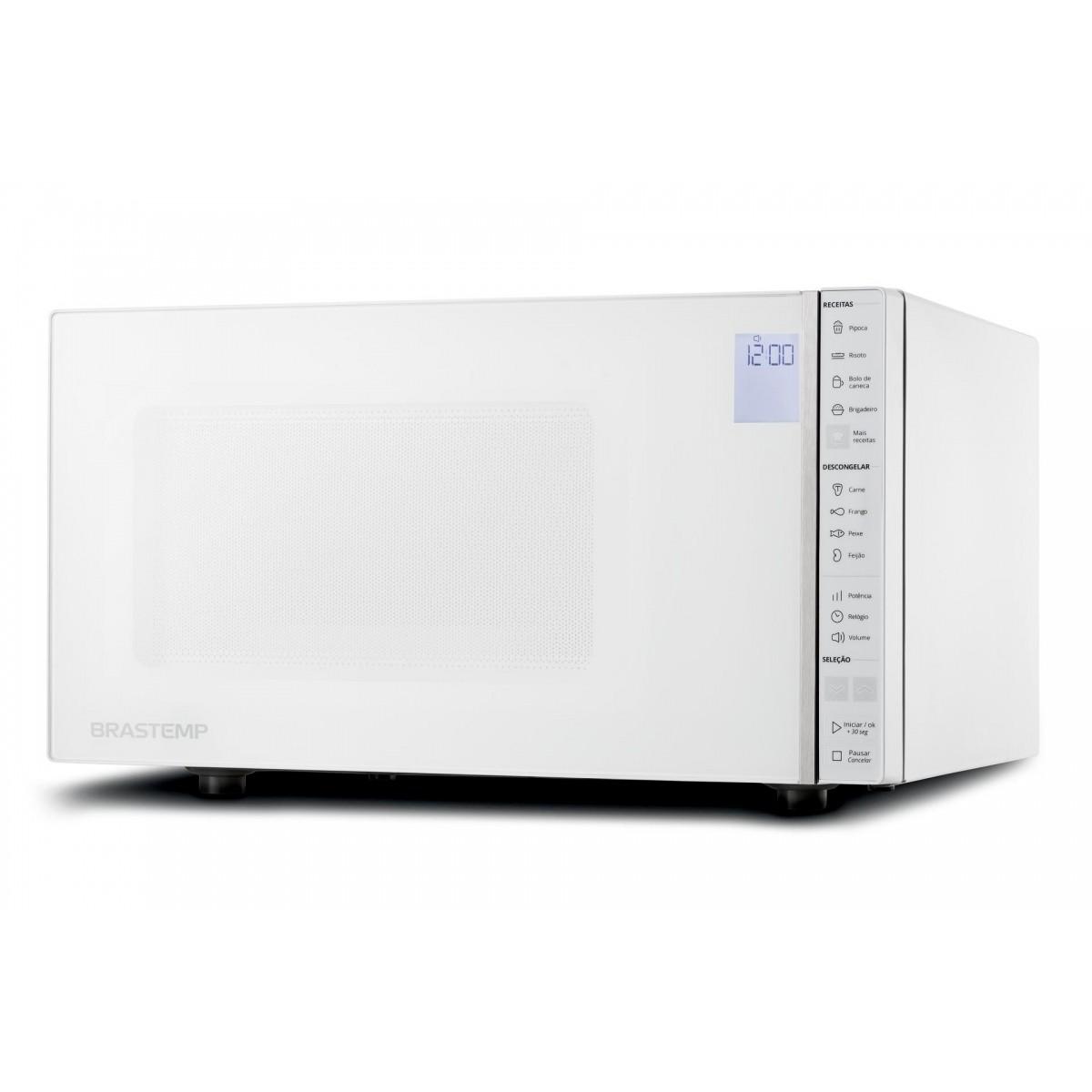 Micro-ondas Brastemp Branco 32 Litros - BMS45CB