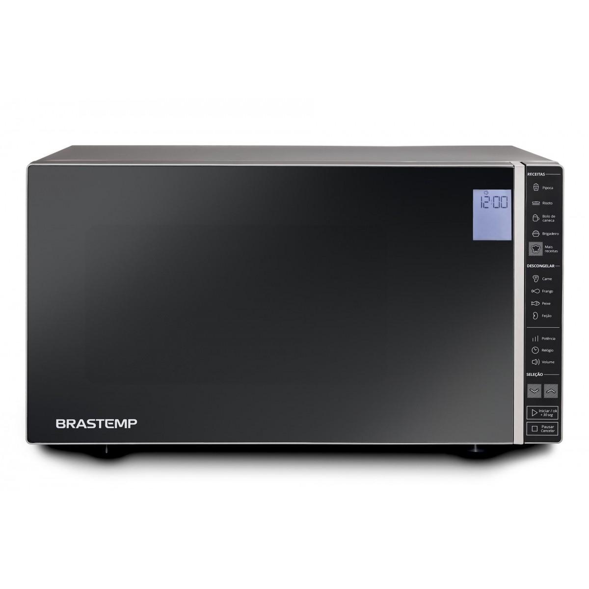Micro-ondas Brastemp Espelhado 32 Litros - BMS45CR