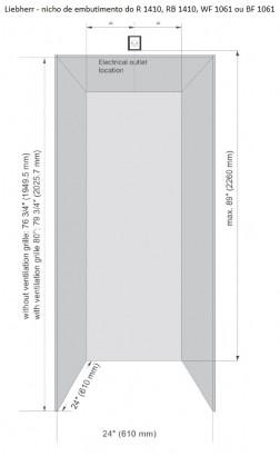 Refrigerador de Embutir Liebherr BioFresh RB1410 246L