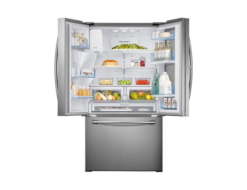 Refrigerador Samsung French Door Showcase 665L RF28HDEDBSR/AZ
