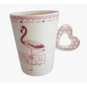 Caneca Tropical Paradise - Flamingo