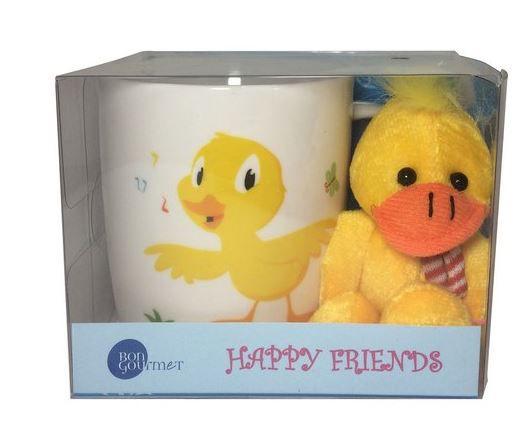 CANECA HAPPY FRIENDS - PATO