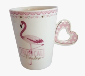 Caneca Tropical Paradise - Flamingo