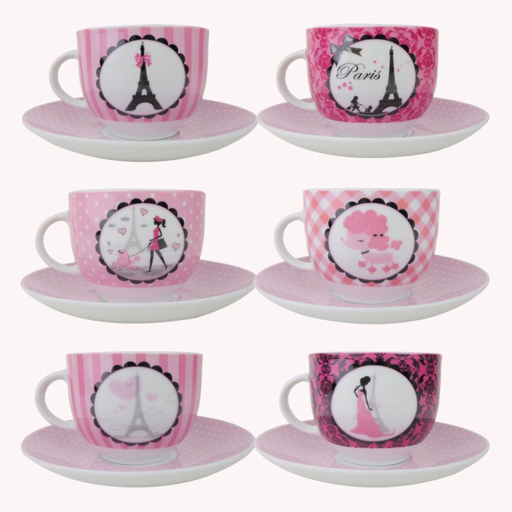 Conjunto de xícaras de chá Casambiente