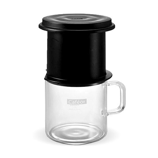 Conjunto p/ filtrar café cafeor (filtro + caneca 200ml)