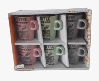 Jogo de xícaras de café Coffee Bon Gourmet