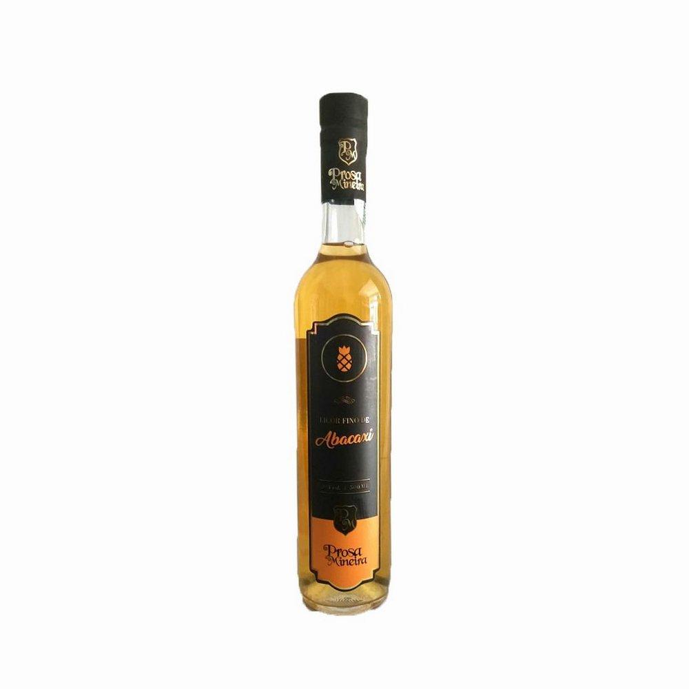Licor de Cachaça com Abacaxi 500ml Prosa Mineira