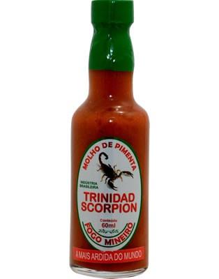 Molho de Pimenta Trinidad Scorpion 60ml Fogo Mineiro