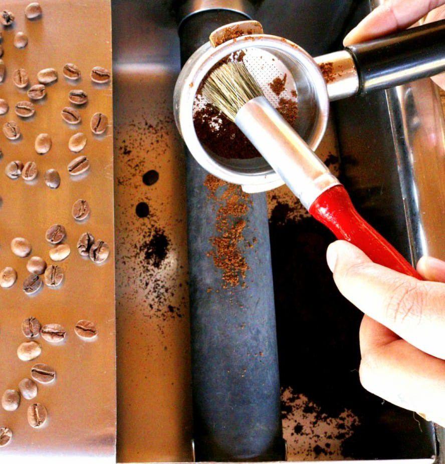 Pincel para Cafeteiras e Baristas