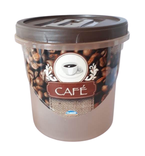Pote com tampa para café 1,8L