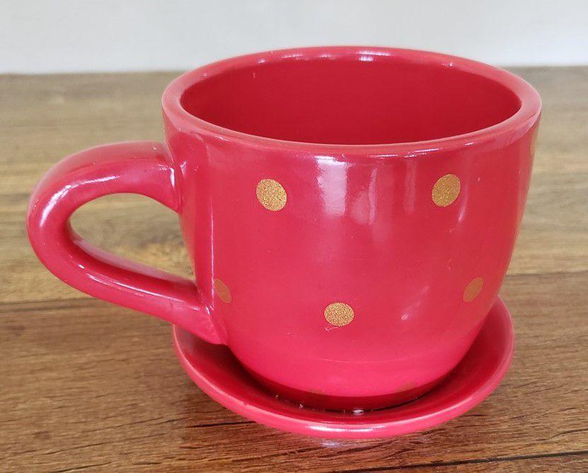 Vaso - Em formato de xícara