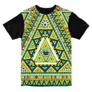 Camiseta Psicodélica Native Culture Eye