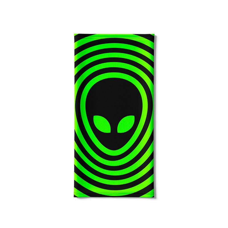 Bandana Tubular Alien Psicodélico