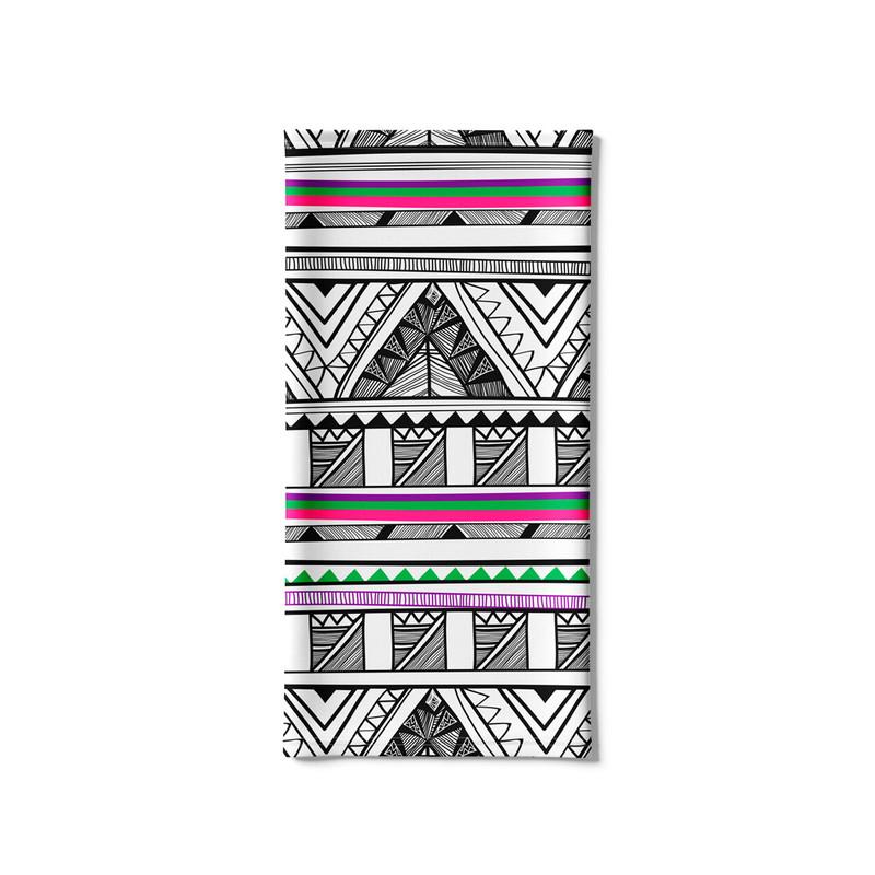 Bandana Tubular Asteca Tribal