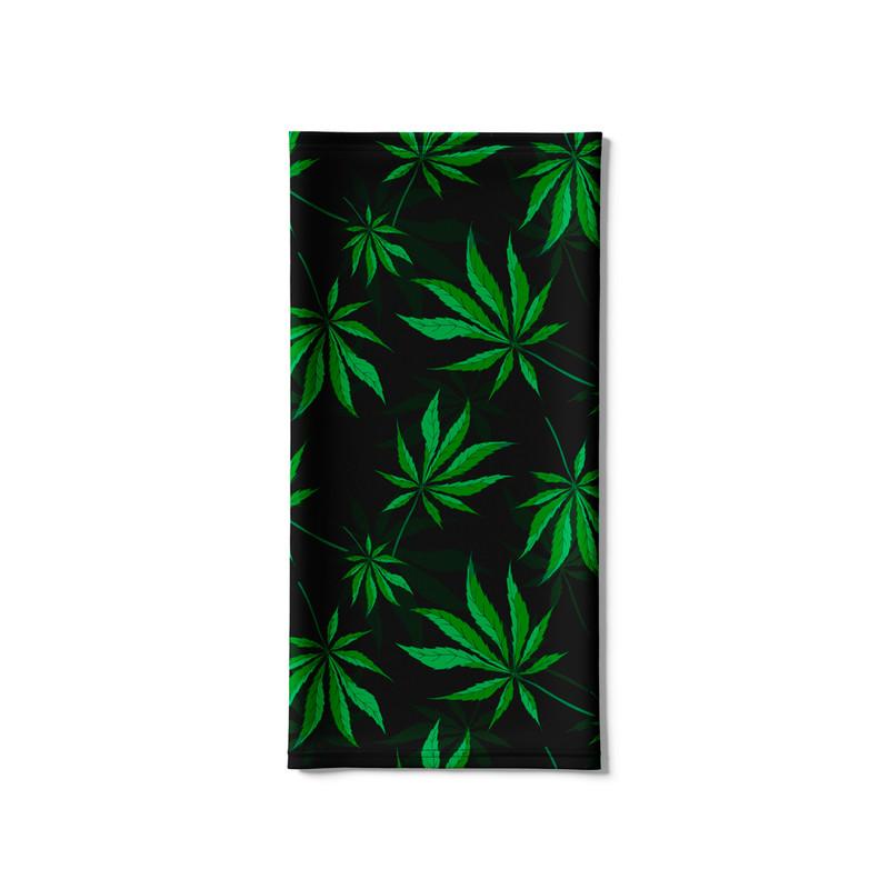 Bandana Tubular Cannabis Folha Maconha