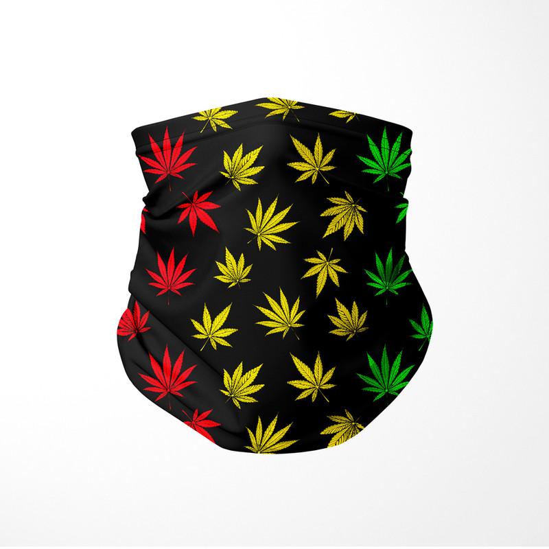 Bandana Tubular Cannabis Maconha Reggae