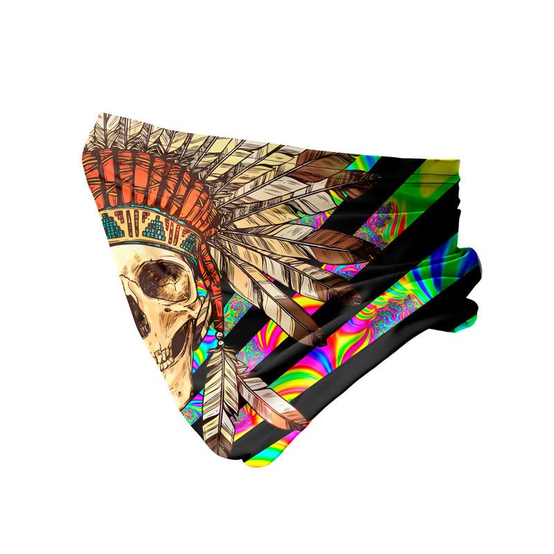 Bandana Tubular Caveira Indígena
