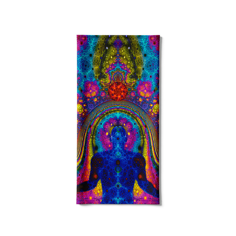 Bandana Tubular Chakras Meditação