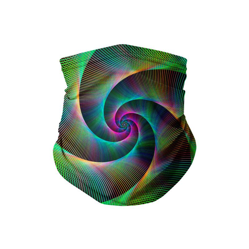 Bandana Tubular Espiral Laser