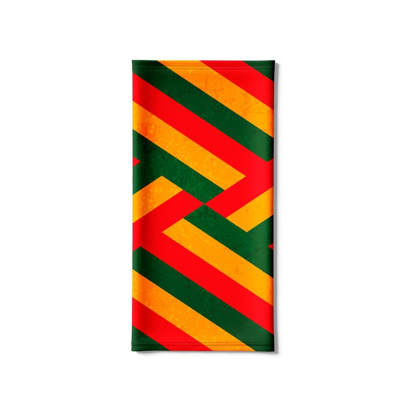 Bandana Tubular Faixas Reggae