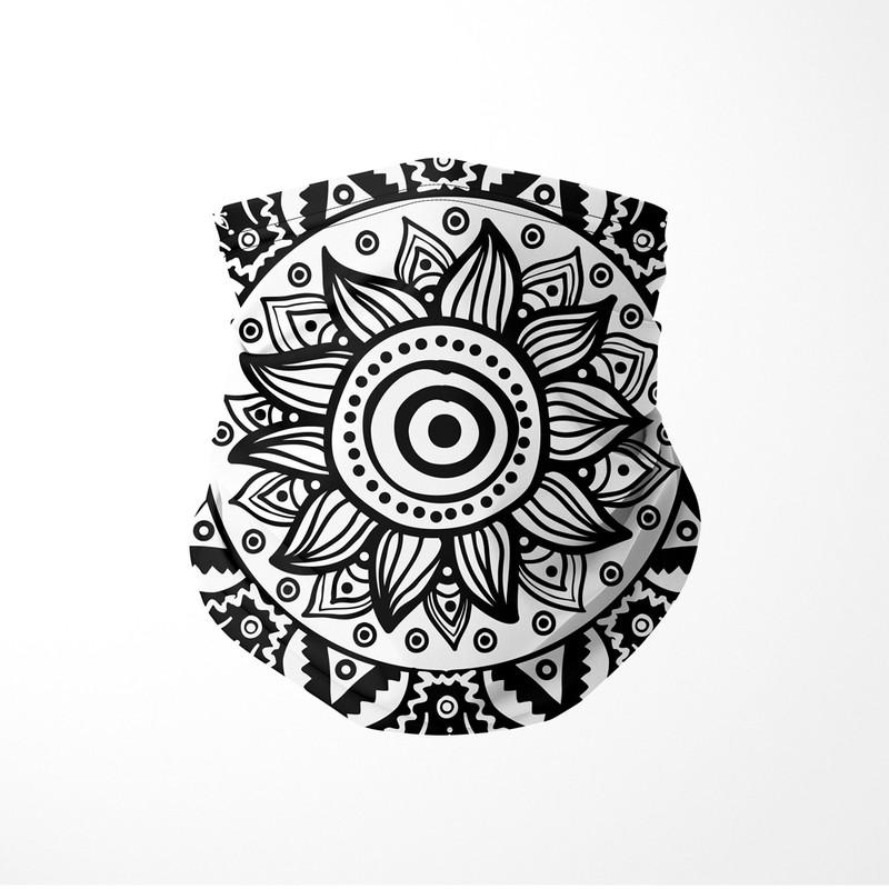 Bandana Tubular Flor Nativa Mandala