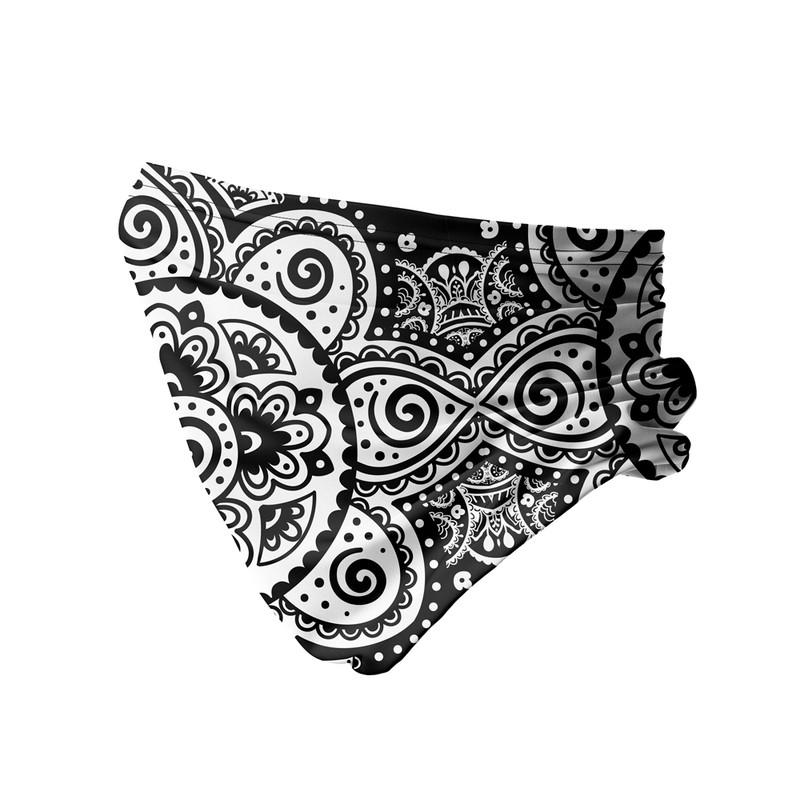 Bandana Tubular Flor Tribal Mandala