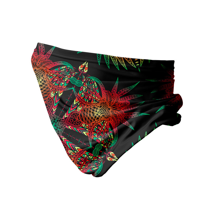 Bandana Tubular Floresta Abstrata