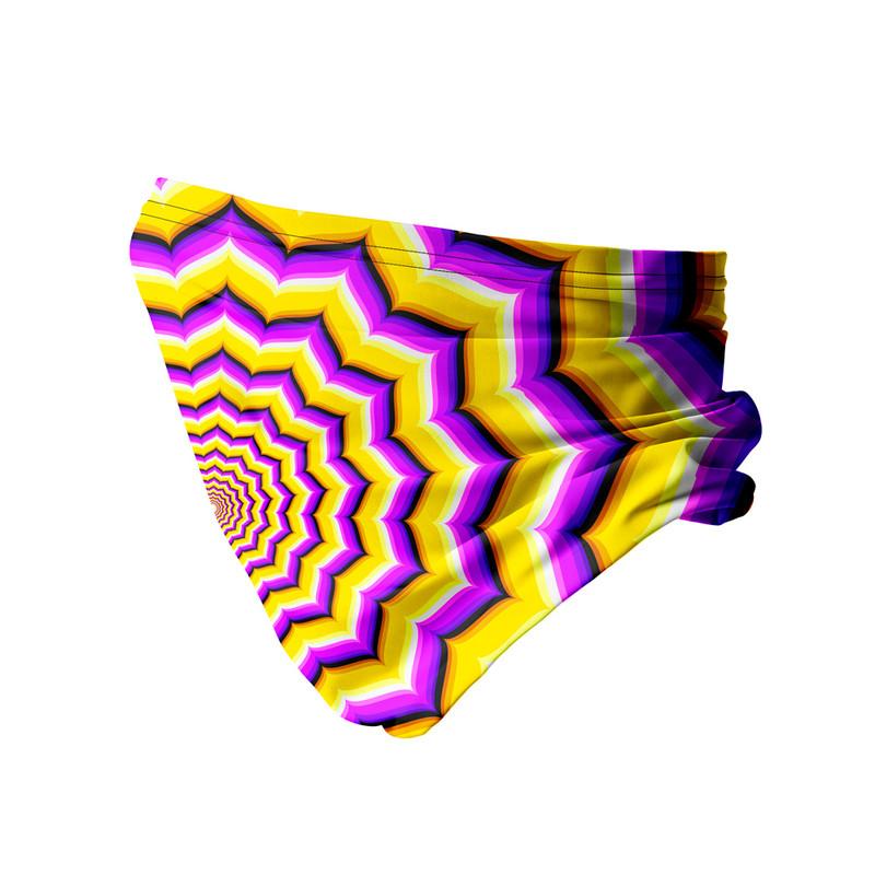 Bandana Tubular Ilusão Óptica
