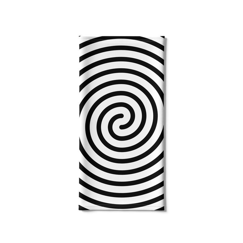 Bandana Tubular Linhas Espiral