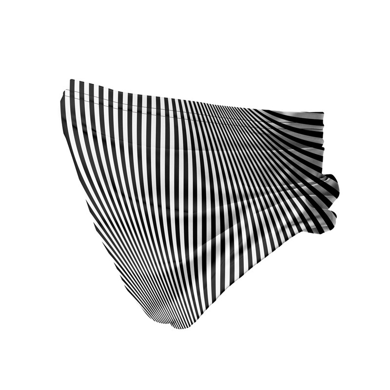 Bandana Tubular Listras Ilusão Óptica