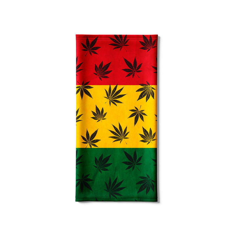 Bandana Tubular Maconha Bandeira Reggae