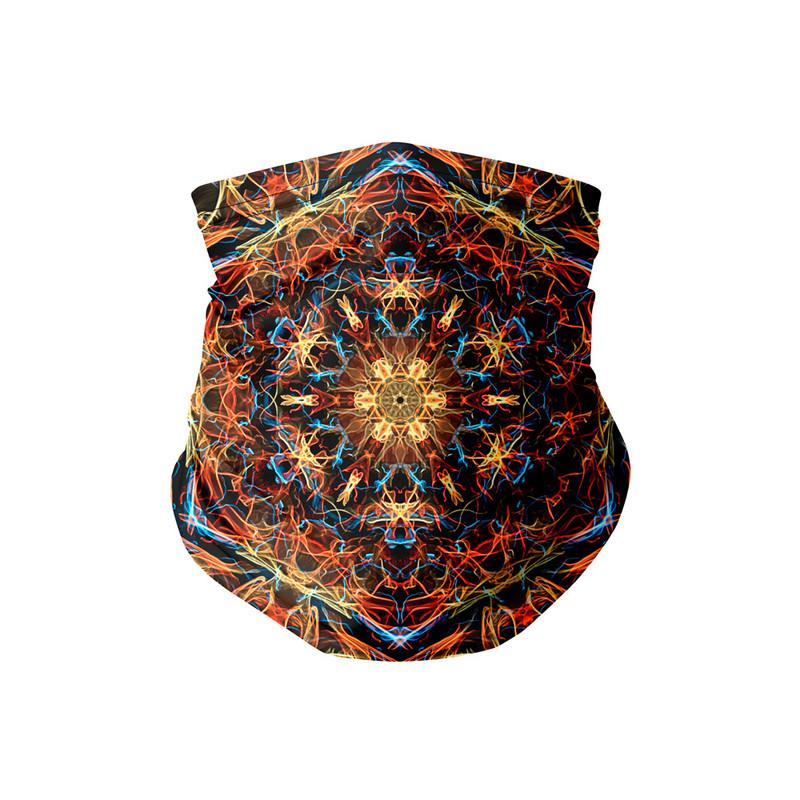 Bandana Tubular Mandala Elétrica