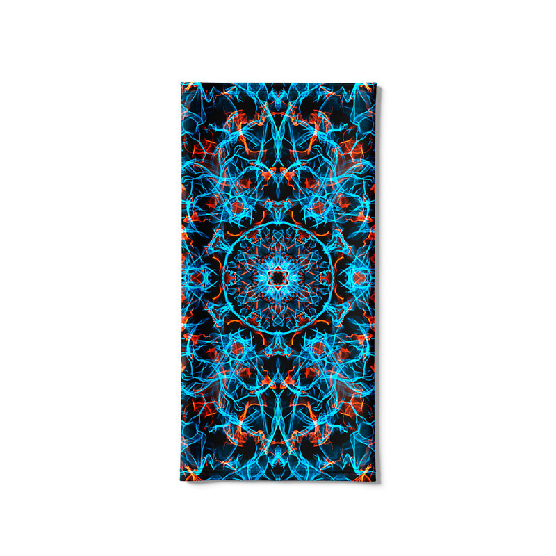 Bandana Tubular Mandala Energia Azul