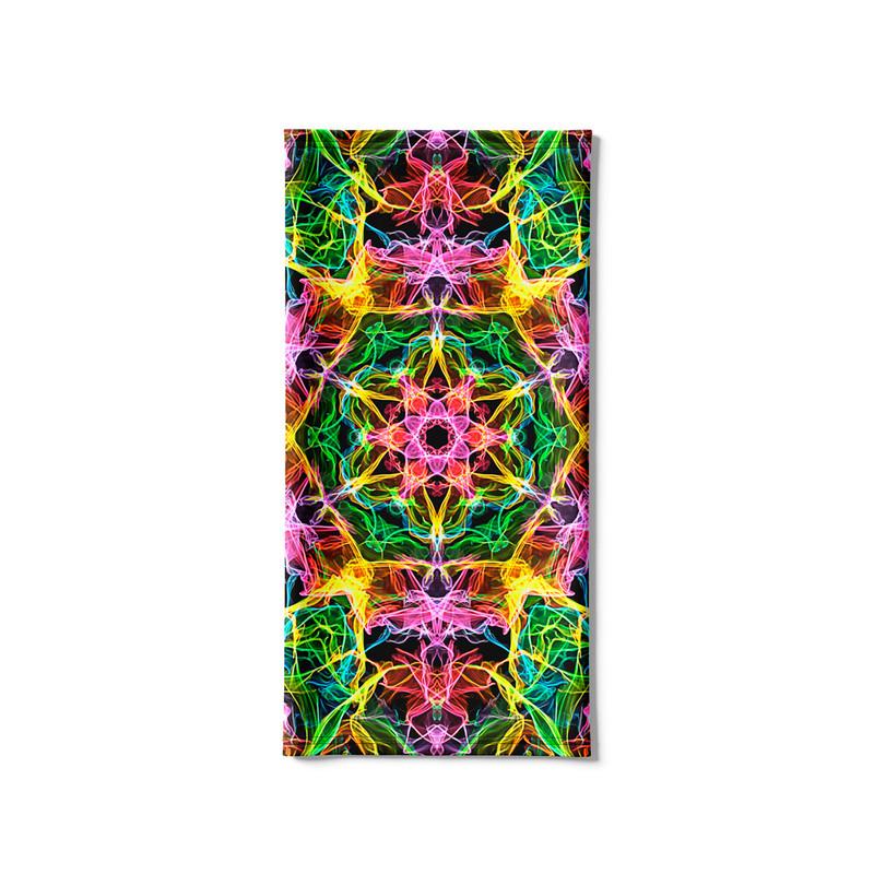 Bandana Tubular Mandala Energia Rosa