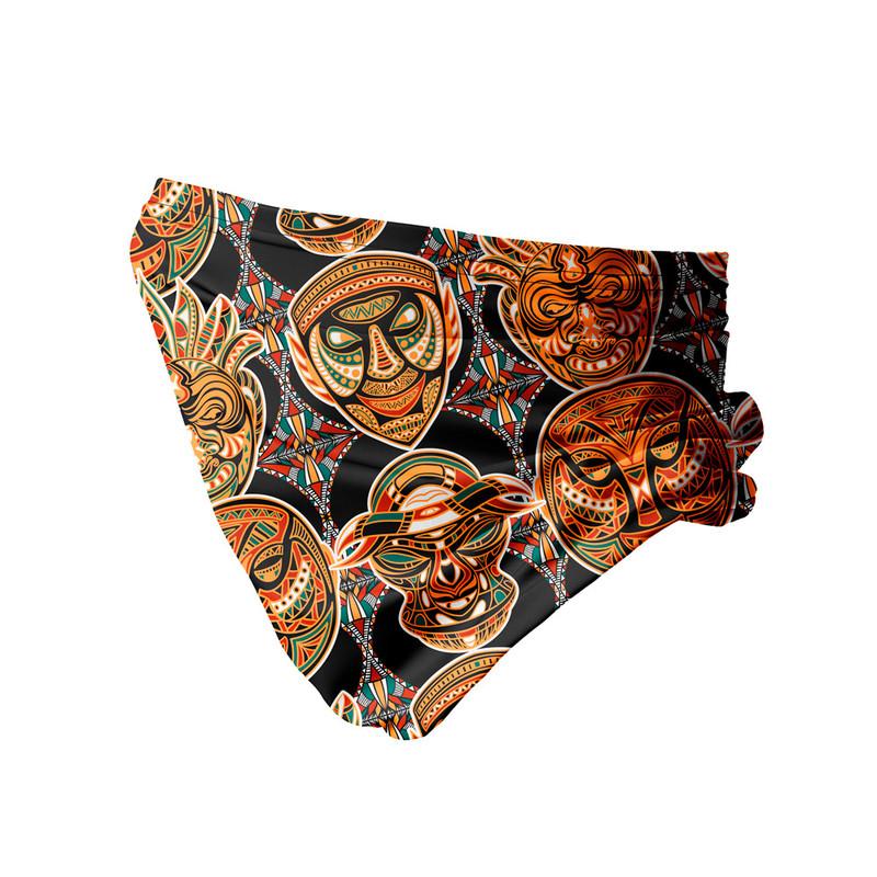 Bandana Tubular Máscara Africana Tribal