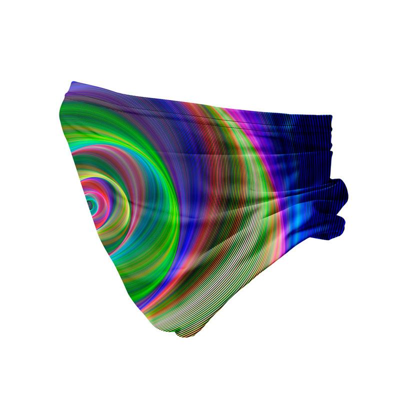 Bandana Tubular Portal Psicodélico Laser