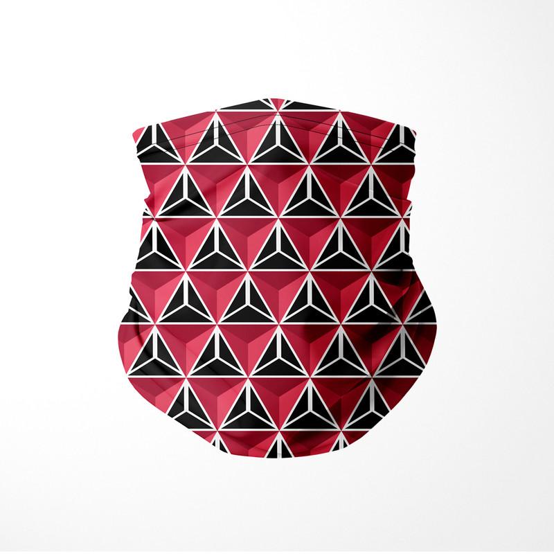 Bandana Tubular Triangulo Tridimensional