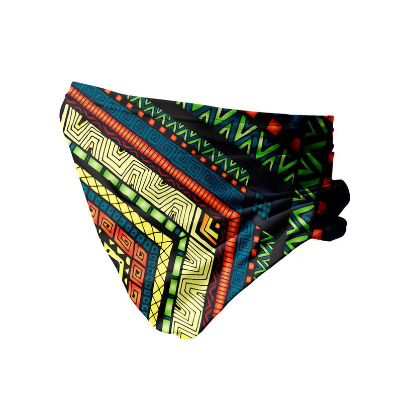 Bandana Tubular Tribal Geométrico