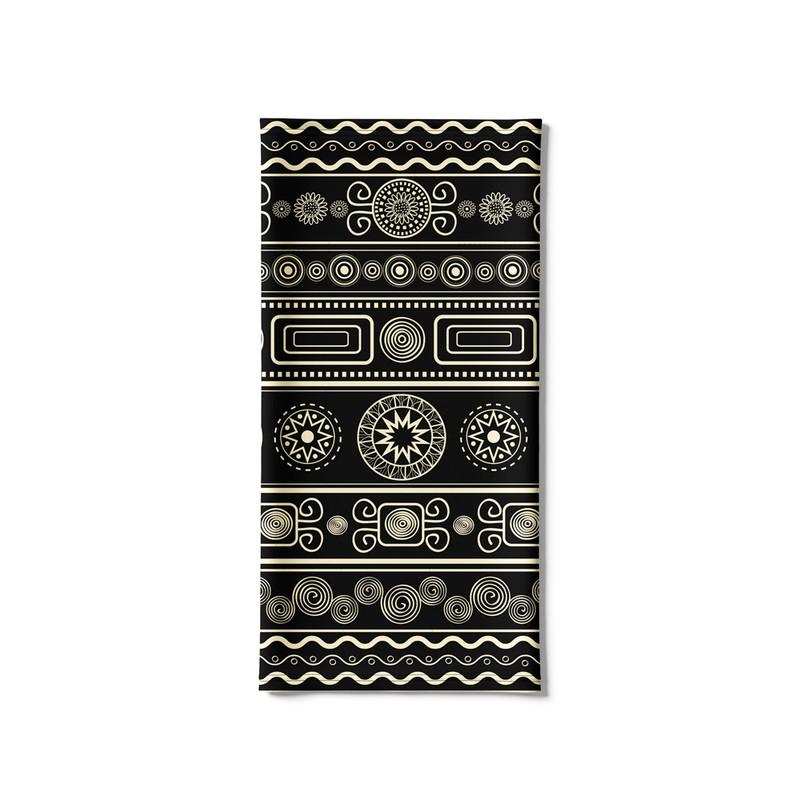 Bandana Tubular Tribal Nativa Asteca