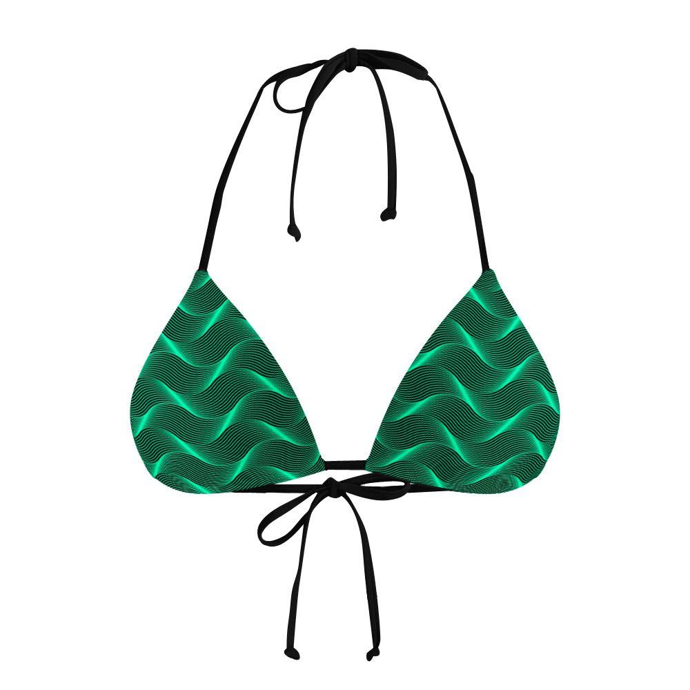 Biquíni Cortininha Insane Curves Green