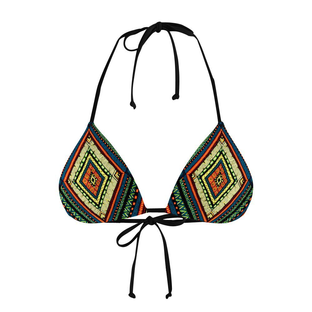 Biquíni Cortininha Psicodélico Native Culture