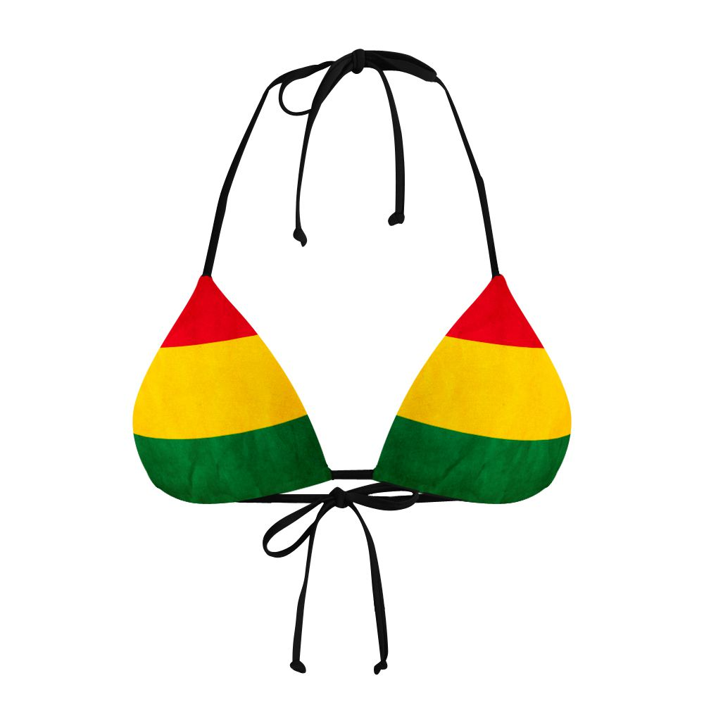 Biquíni Cortininha Reggae Flag