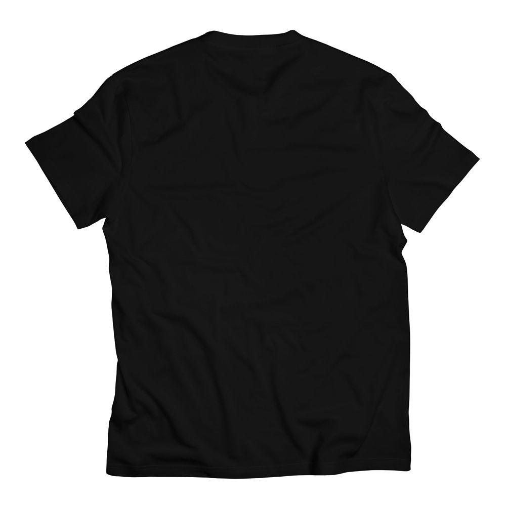 Camiseta Bolso Psicodélico Abstract Lines Blue