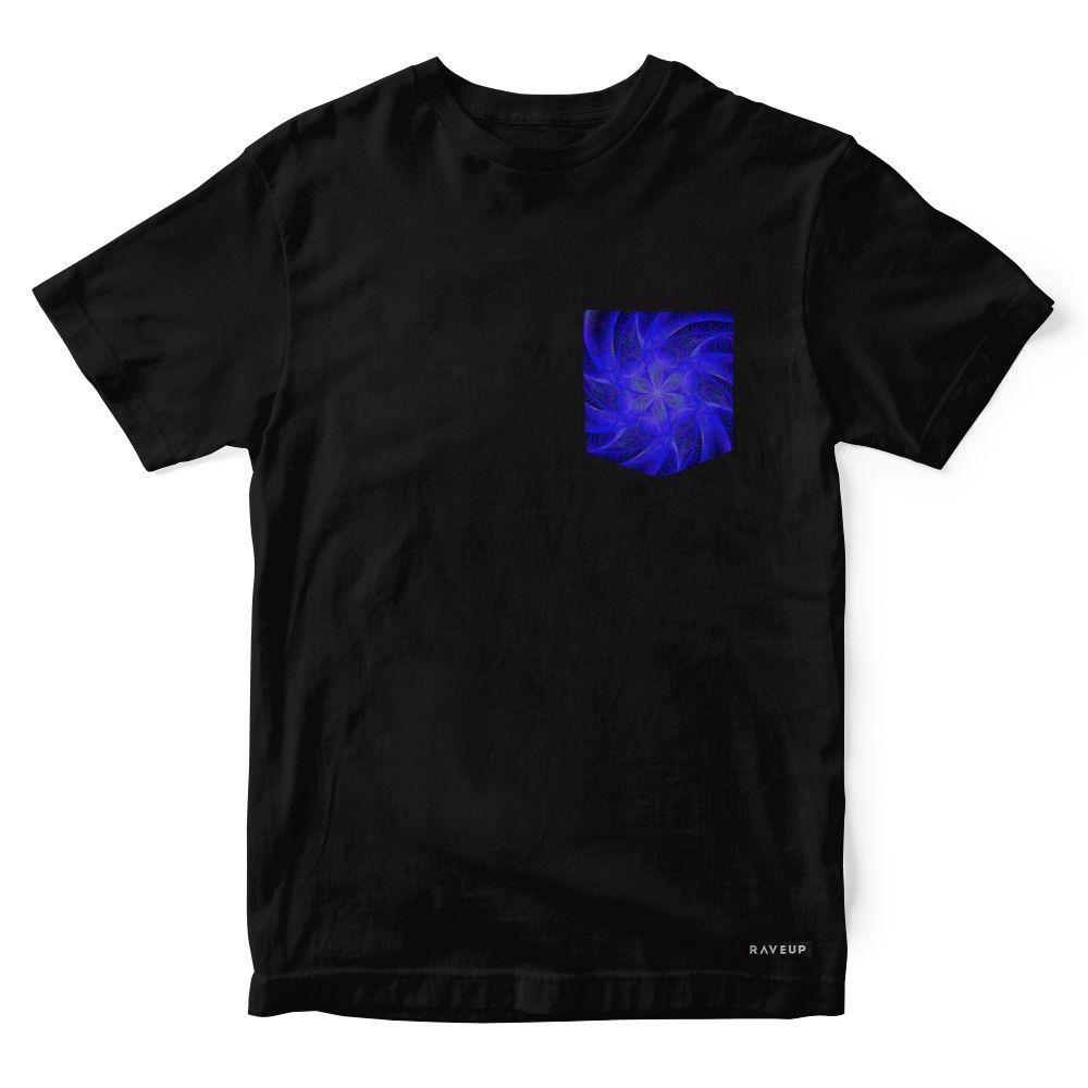Camiseta Bolso Psicodélico Cosmic Star