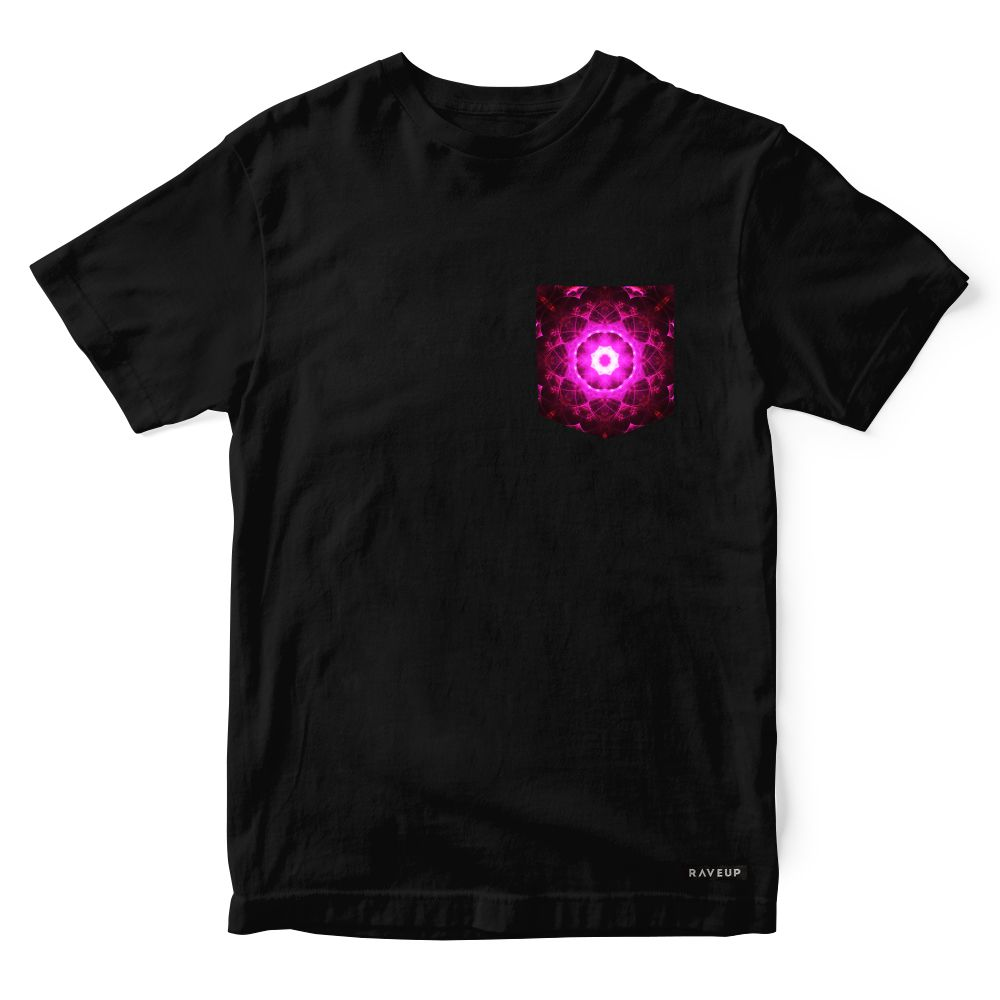 Camiseta Bolso Psicodélico Diffusal Star