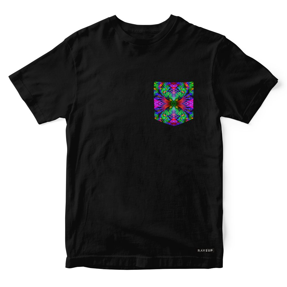 Camiseta Bolso Psicodélico Forest