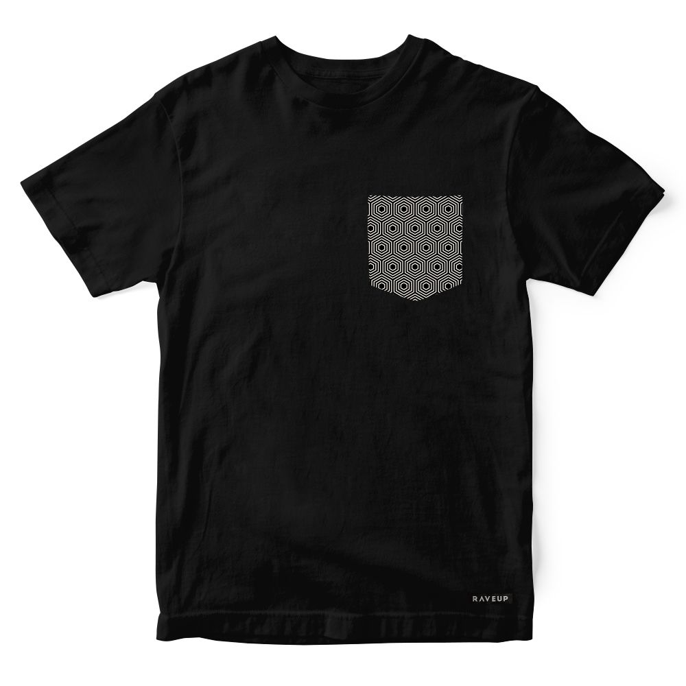 Camiseta Bolso Hexagon Dark