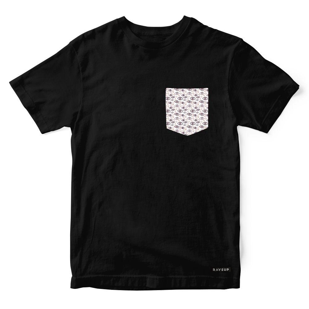 Camiseta Bolso Psicodélico Mistic Eyes