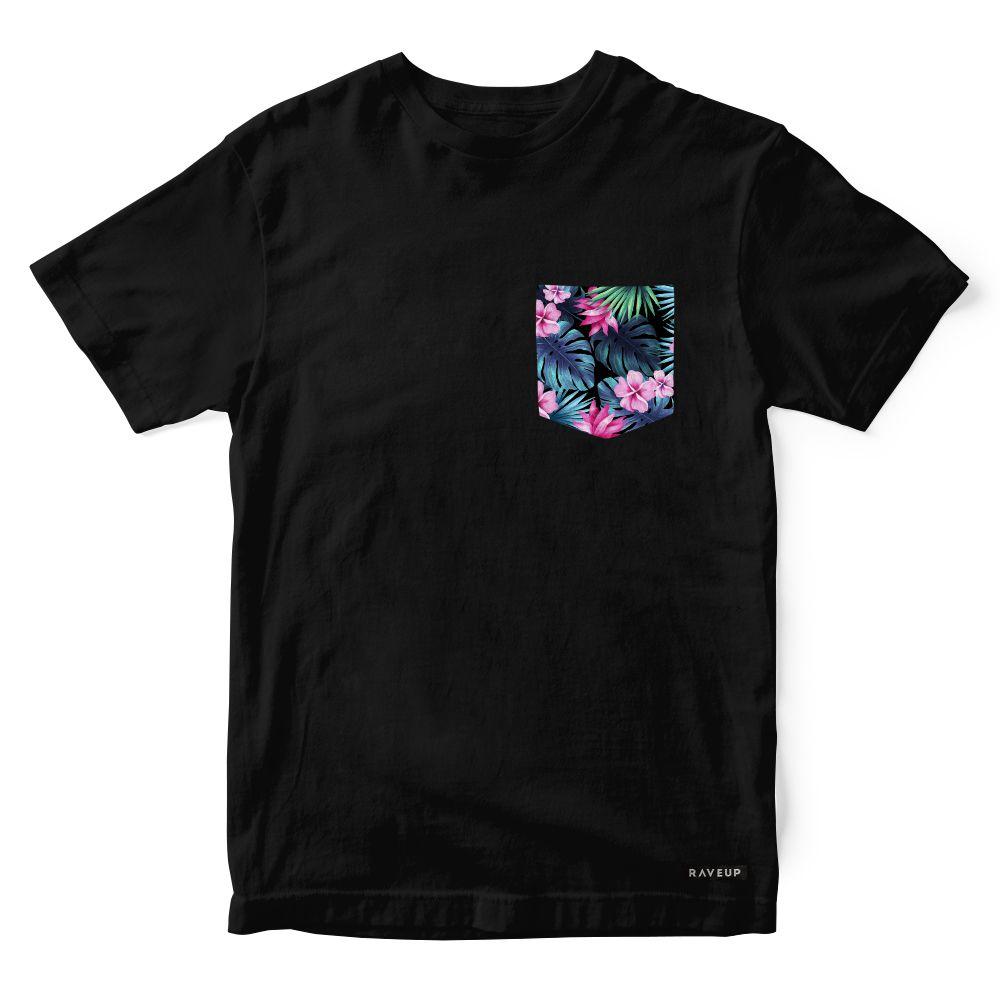 Camiseta Bolso Psicodélico Nature