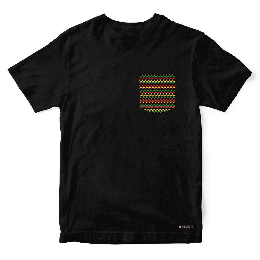 Camiseta Bolso Reggae Lines